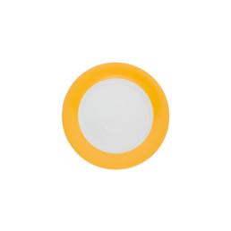 Pronto, Teller flach ø 160 mm orange-gelb