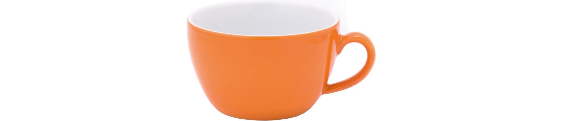 Pronto, Café au lait Tasse ø 115 mm / 0,40 l orange