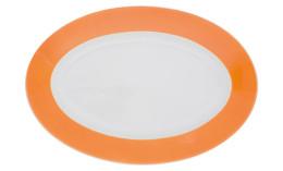 Pronto, Platte oval 280 x 190 mm orange