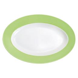 Pronto, Platte oval 320 x 220 mm pastellgrün