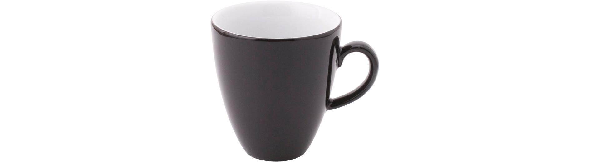 Pronto, Kaffeetasse hoch ø 77 mm / 0,18 l schwarz
