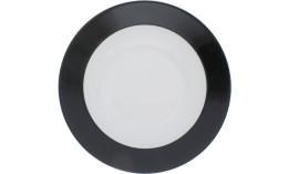 Pronto, Teller tief ø 220 mm schwarz