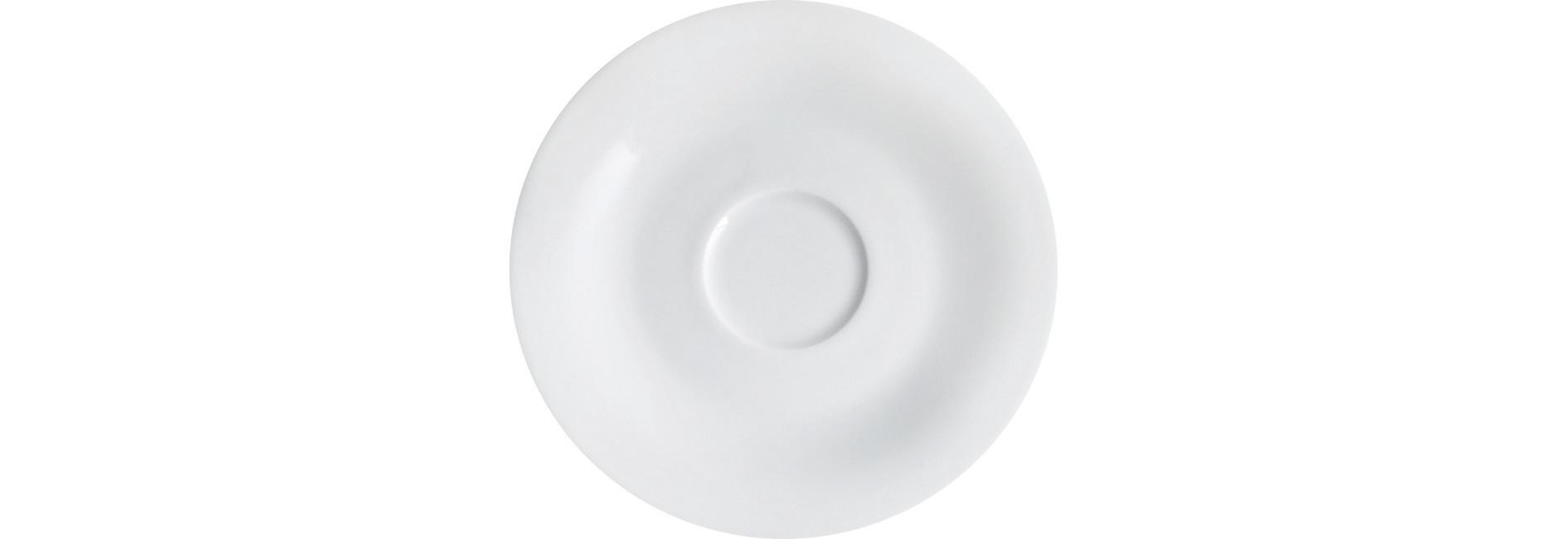 Pronto, Untertasse ø 120 mm weiß