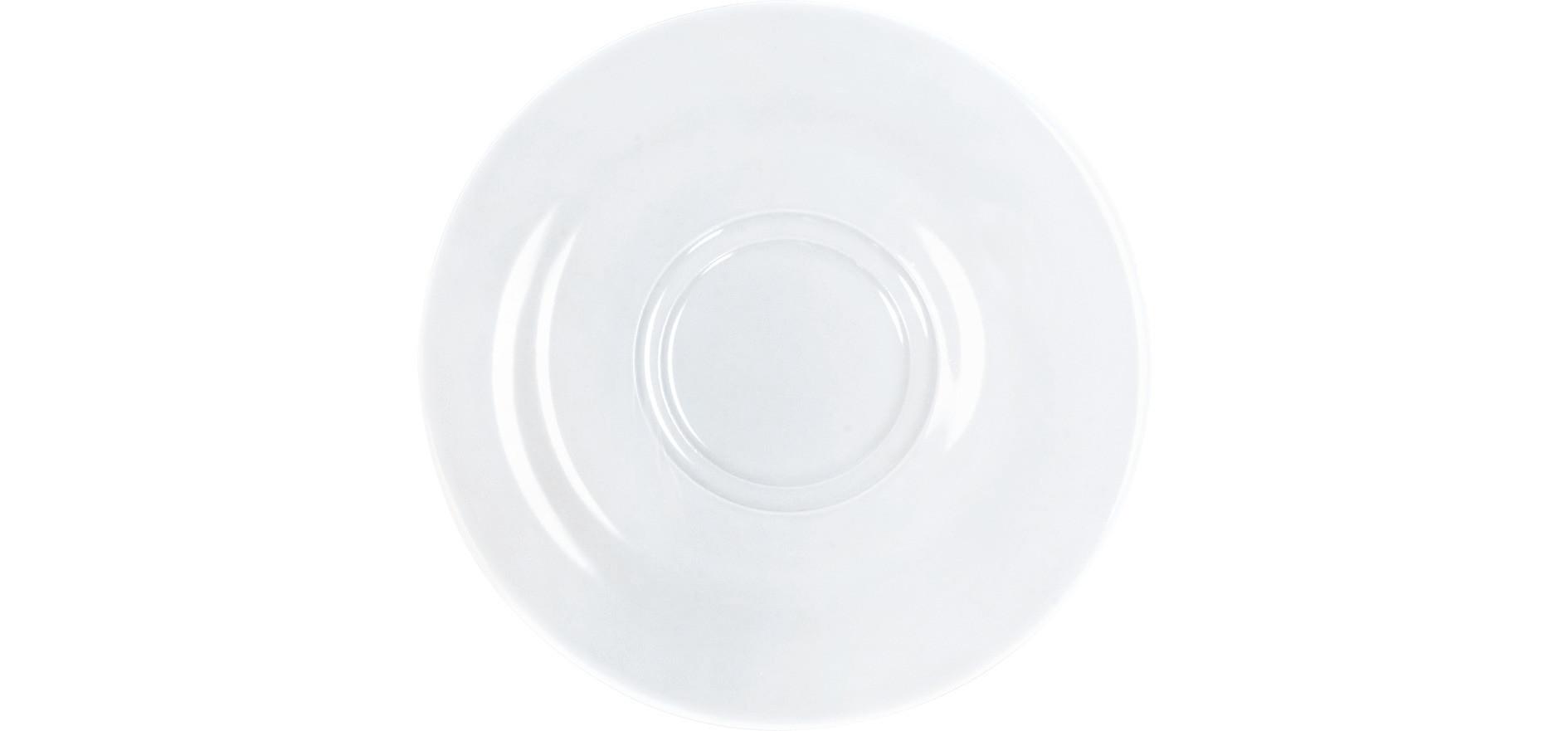 Pronto, Untertasse ø 160 mm weiß