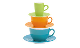 Pronto, Kaffee- / Cappuccinotasse 0,18 l orange