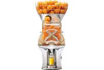 Orangensaftmaschine + SB-Zapfhahn mit Vorratskorb / 30 Orangen/min. / 2,00 l