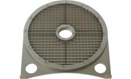 Würfelgitter 7,5 x 7,5 mm mit Schneidscheibe Edelstahl