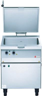 Elektro-Kippbratpfanne GN 2/1 25,00 l / Duplex-Antihaft / 7,15 kW