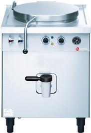 Elektro-Schnellkochkessel 63,50 l / Permapress / Kessel 484 x 484 x 410 mm