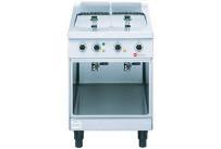 Elektro-Fritteuse 2 x 6,50 l / Becken 200 x 400 x 250 mm