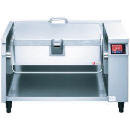 Elektro-Kippbratpfanne 109,00 l / Duplex-Antihaft / Tiegel 616 x 660 x 184 mm