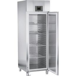 Umluft-Kühlschrank 597,00 l / GKPv 6590 / 700 x 830 x 2120 mm / Edelstahl