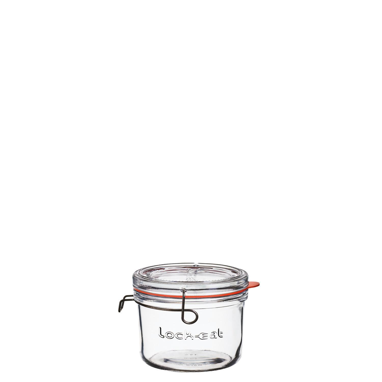 Lock-Eat, Einmachglas mit Deckel XL 133 x 130 mm / 0,65 l