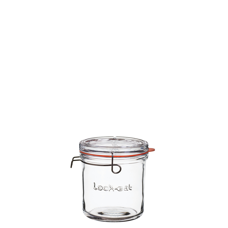 Lock-Eat, Einmachglas mit Deckel XL 134 x 130 mm / 0,90 l