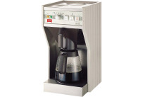 Filterkaffeemaschine 2,00 l mit 2 Glaskannen / ohne Wasseranschluss / 230 V