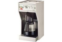 Filterkaffeemaschine 2,00 l mit 2 Glaskannen / mit Wasseranschluss / 230 V