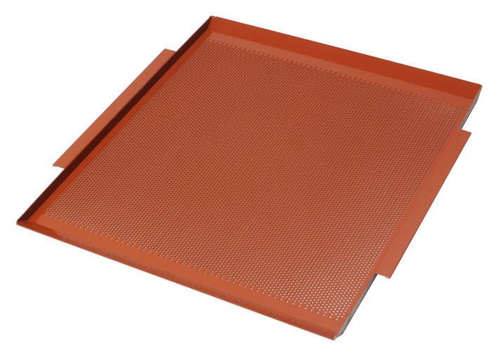 Spezial Backblech GN 2/1 gelocht / antihaftbeschichtet 530 x 650 mm