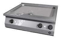 Elektro-Griddleplatte glatt / 2 Supra / Bratfläche 705 x 545 mm / Counter SL