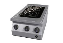 Elektro-Kocher 2 Platten / Vitro 2 / Feld 305 x 540 mm / 400 x 700 x 270 mm