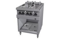 Elektro-Fritteuse 2 x 12,50 l / London II / 20,00 kW / 600 x 700 x 700 mm + Zusatz
