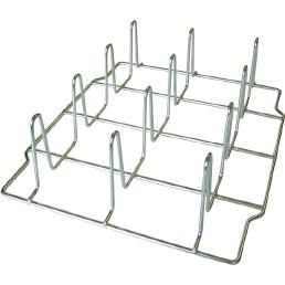 Hähnchengrillgestell FlexiRack für 12 Hähnchen / 2-teilig