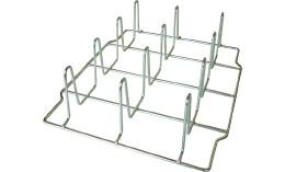 Spezial Hähnchensteckgestell FlexiRack für 12 Hähnchen  / 2-teilig