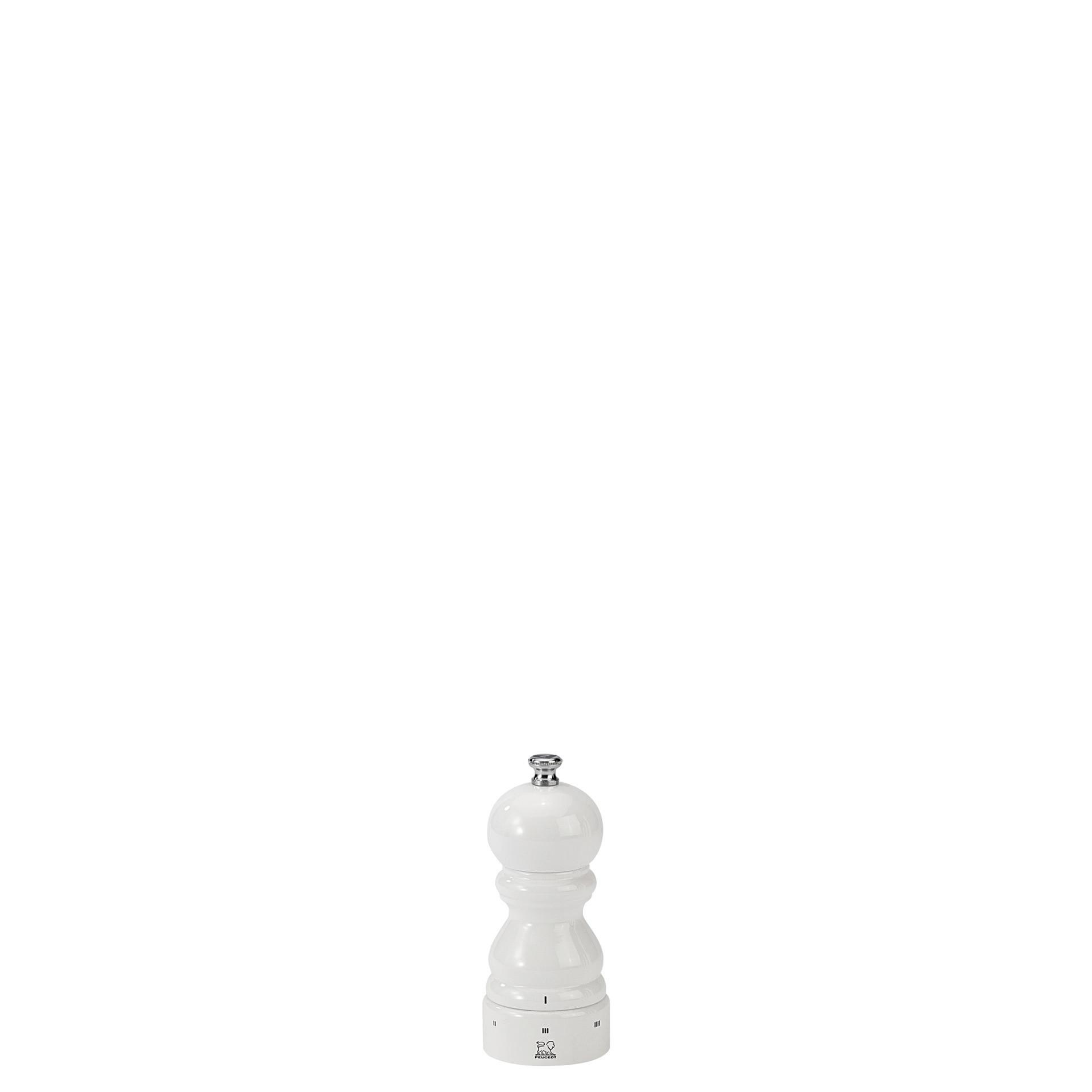 Paris, Pfeffermühle u´Select 120 mm Buchenholz weiß lackiert