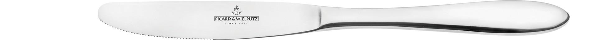 Bozen, Menümesser Monoblock 232 mm poliert