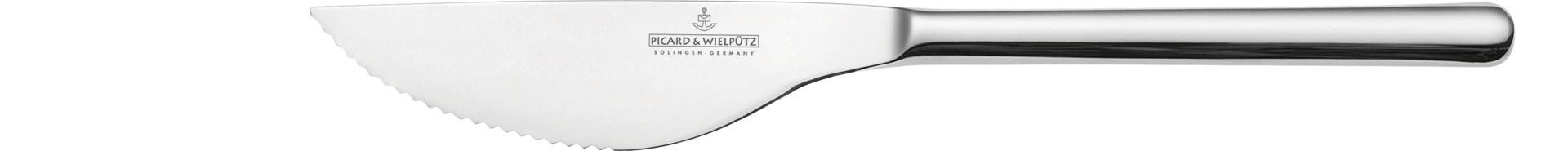 Ventura, Pizzamesser Stahlheft 230 mm poliert