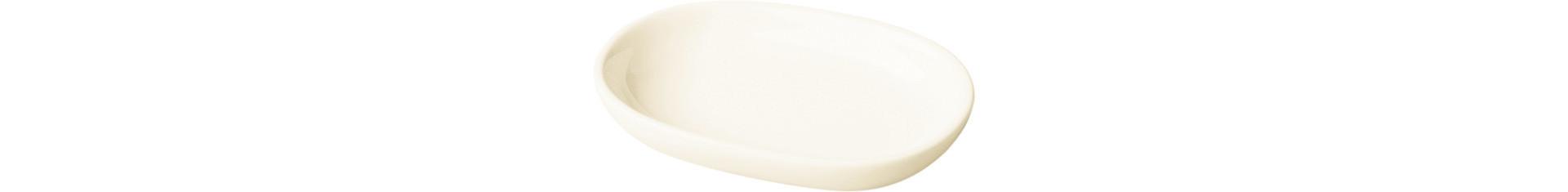 Banquet, Butterteller 110 x 80 x 25 mm / 0,07 l creme