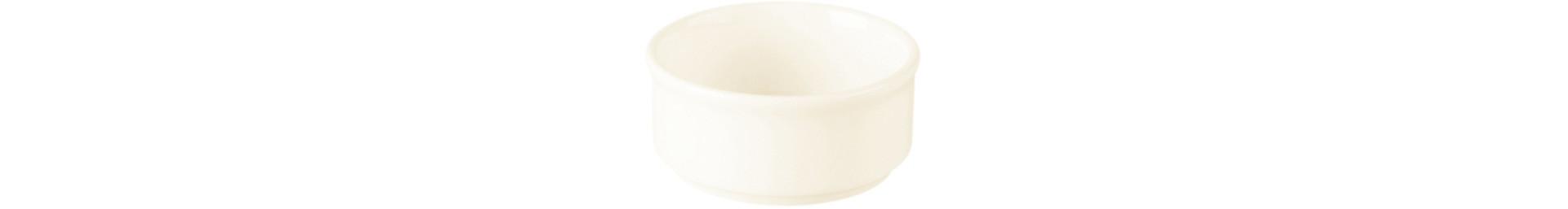 Banquet, Butterschälchen stapelbar ø 80 mm / 0,10 l creme