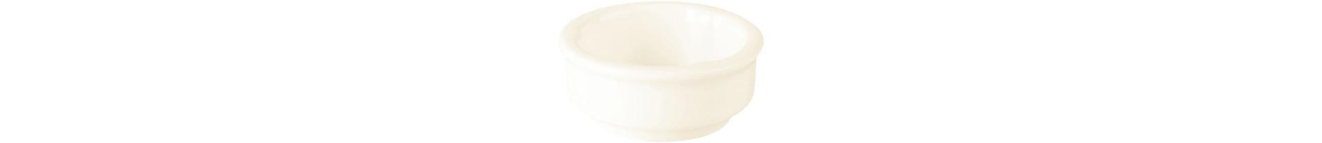 Banquet, Butterschälchen stapelbar ø 70 mm / 0,06 l creme