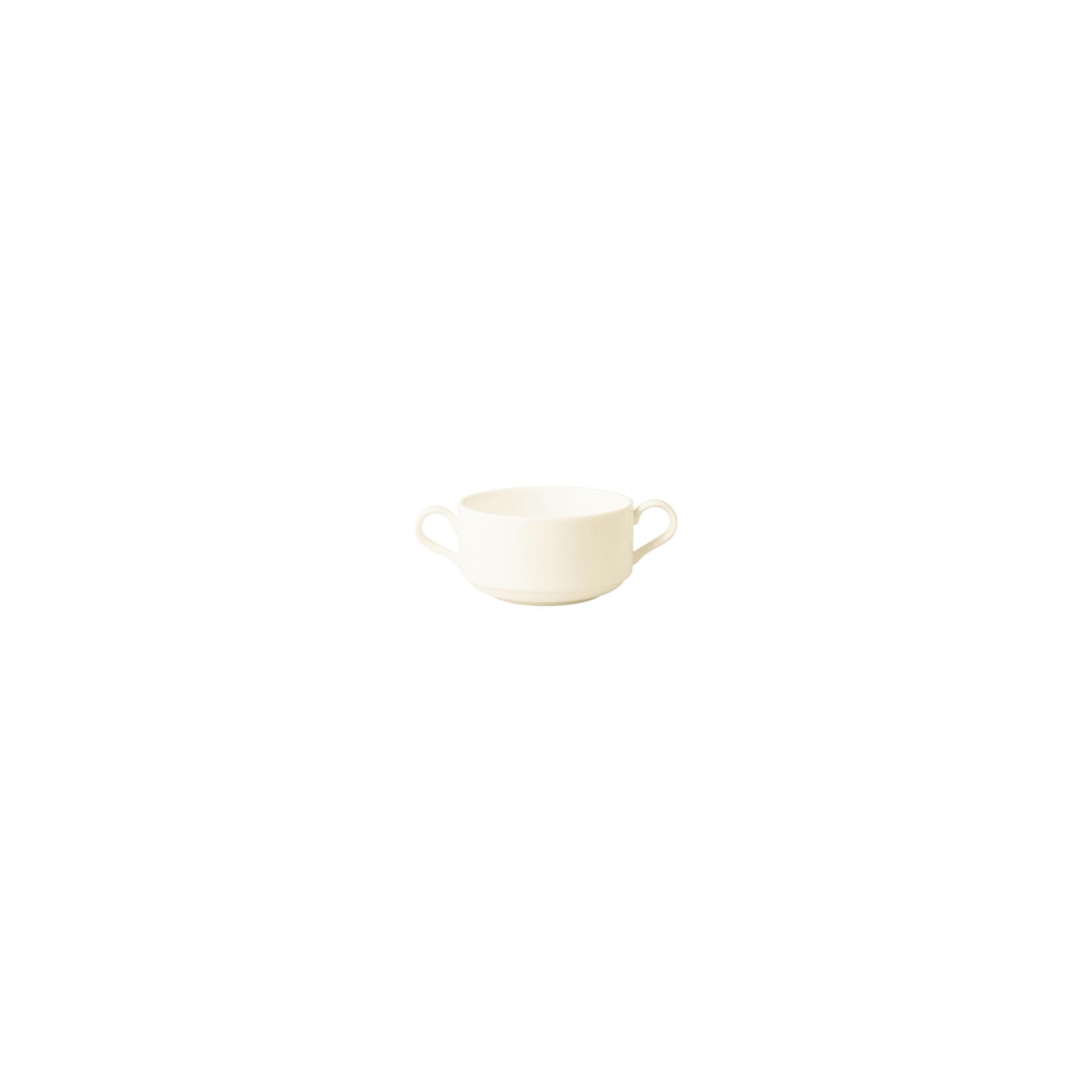 Banquet, Suppentasse mit 2 Henkel ø 85 mm / 0,18 l creme