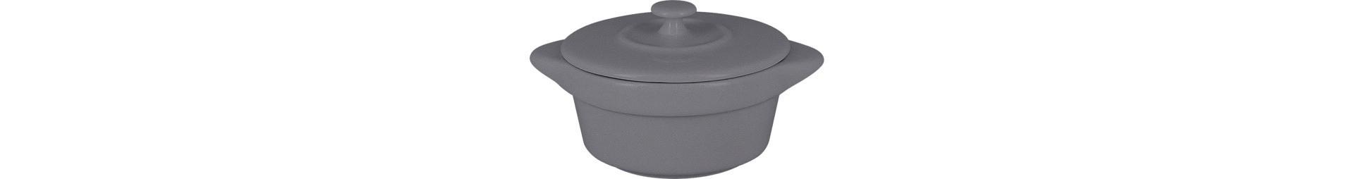 Chef's Fusion, Cocotte mit Deckel mini ø 85 mm / 0,11 l stone