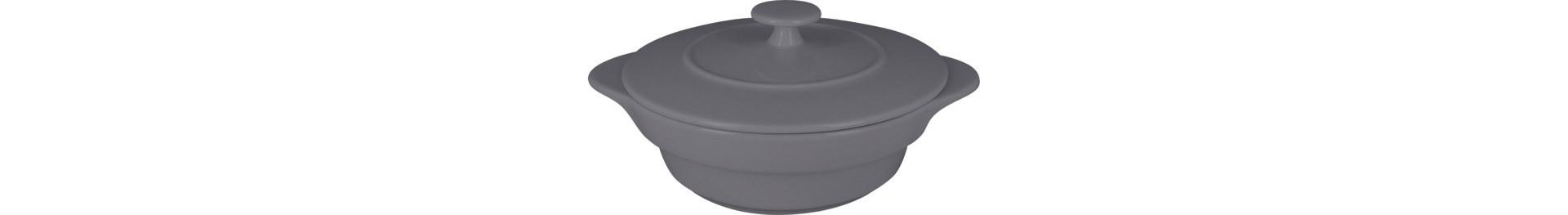 Chef's Fusion, Cocotte rund mit Deckel ø 100 mm / 0,22 l stone