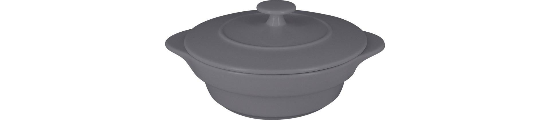 Chef's Fusion, Cocotte rund mit Deckel ø 160 mm / 0,47 l stone