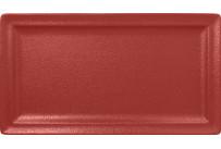 Neofusion, Teller flach rechteckig 380 x 210 mm magma