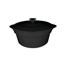 Chef's Fusion, Cocotte rund mit Deckel ø 280 mm / 4,60 l volcano