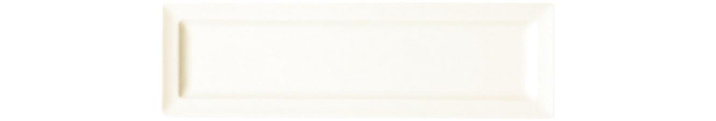 Classic Gourmet, Teller flach rechteckig 210 x 70 mm creme