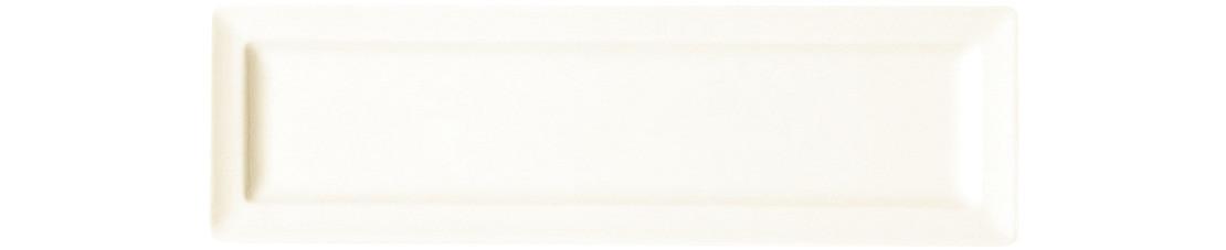 Classic Gourmet, Teller flach rechteckig 260 x 80 mm creme