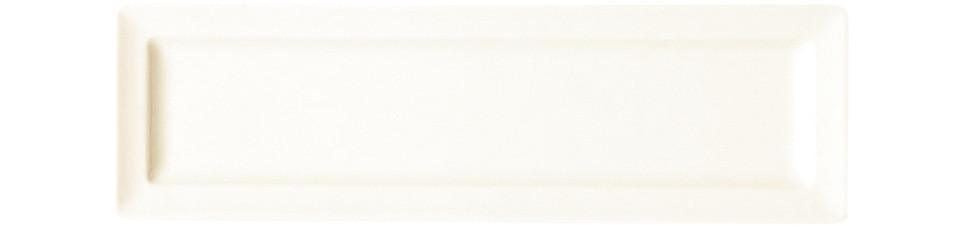 Classic Gourmet, Teller flach rechteckig 290 x 120 mm creme