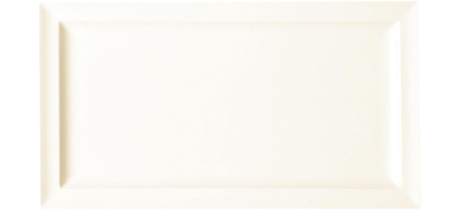 Classic Gourmet, Teller flach rechteckig 330 x 230 mm creme