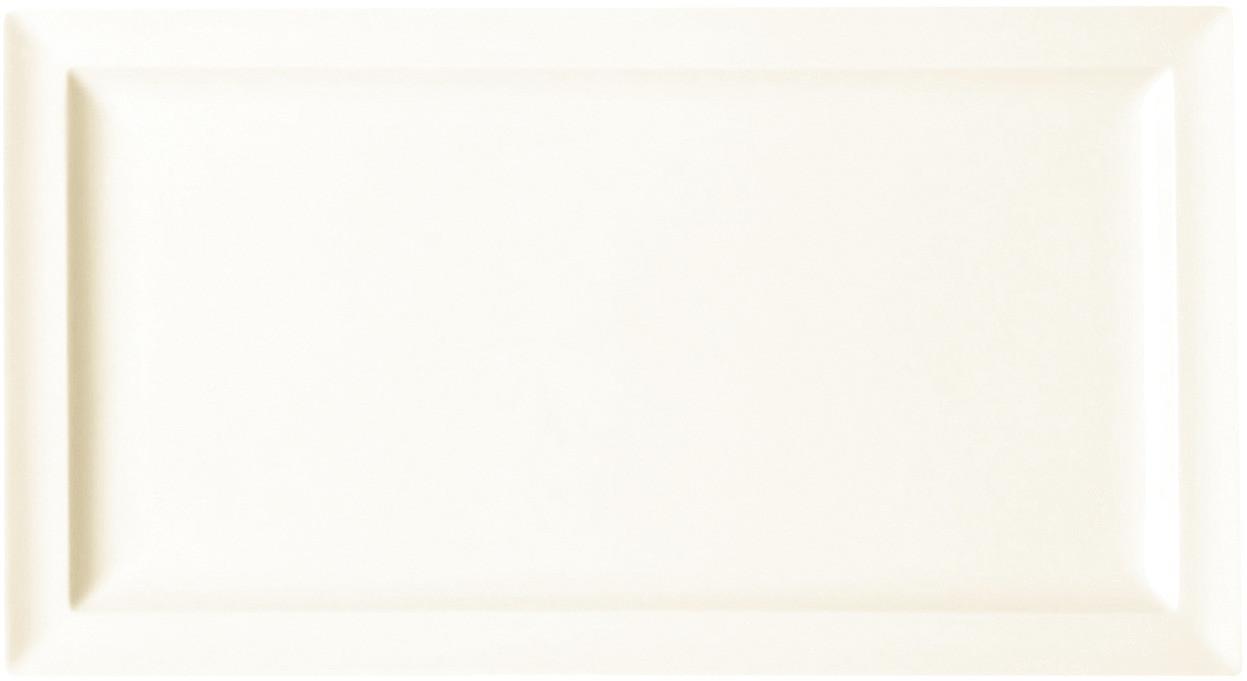 Classic Gourmet, Teller flach rechteckig 380 x 210 mm creme