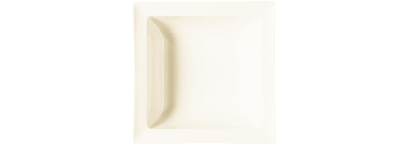 Classic Gourmet, Salatschale quadratisch 140 x 140 mm / 0,32 l creme
