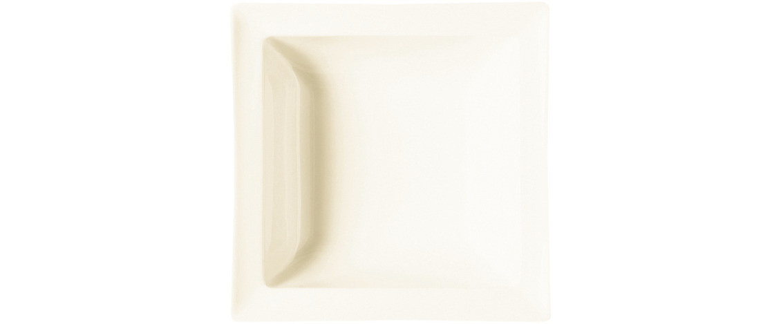 Classic Gourmet, Salatschale quadratisch 160 x 160 mm / 0,40 l creme