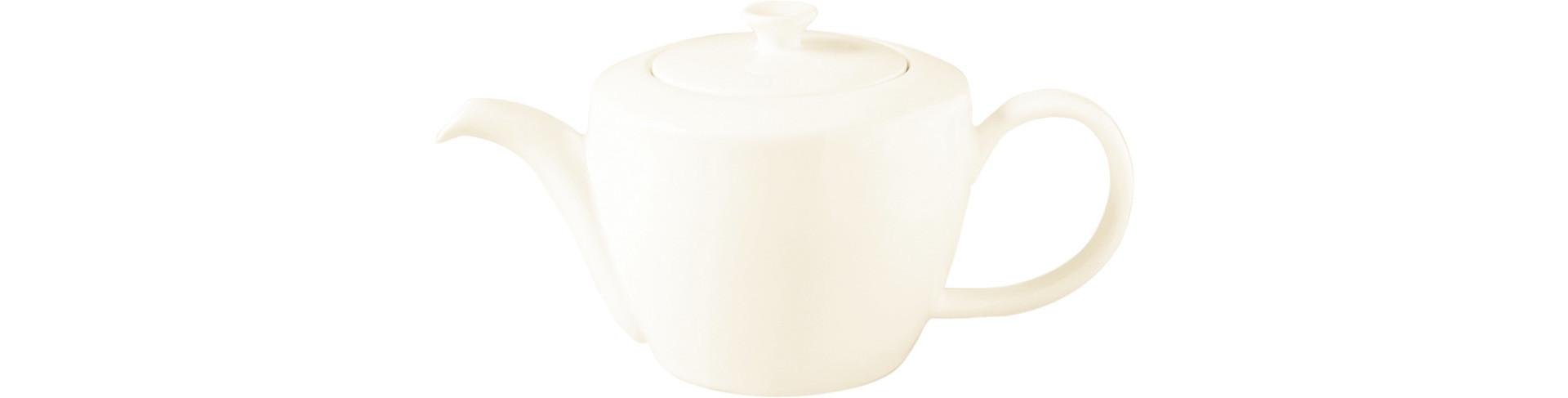 Classic Gourmet, Teekanne mit Deckel 0,40 l creme
