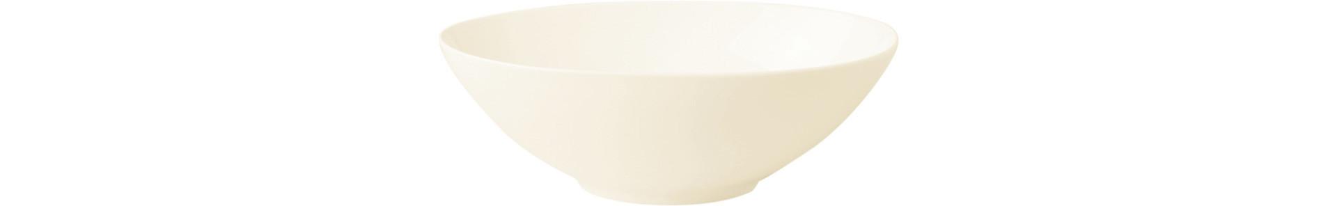 Fine Dine, Salatschale oval 160 x 100 mm / 0,31 l creme