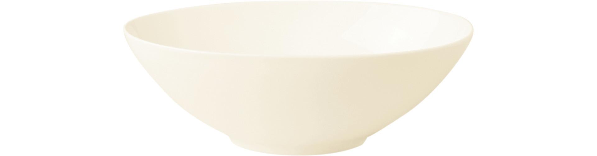 Fine Dine, Salatschale oval 270 x 190 mm / 1,07 l creme