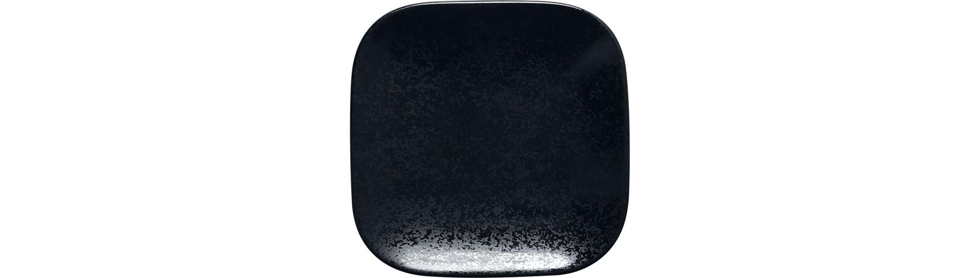 Karbon, Teller quadratisch 110 x 110 mm