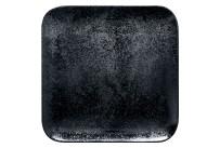 Karbon, Teller quadratisch 240 x 240 mm